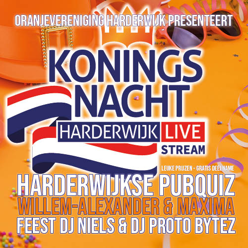 Koningsnacht 2021 Harderwijk